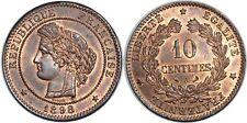 10 CENTIMES CERES 1898 F.135 SPL!!!