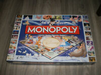 jeu Monopoly Disney Family BOARD GAME  Disney Classics - incomplet