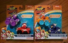 4 Nick Jr. Playskool Top Wing  Racers Swift Baddy Rod Betty all new in package