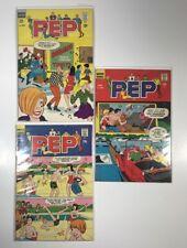 Pep # 194, 197, 201 (Archie Comics 1967) Veronica Betty Jughead Vg/F
