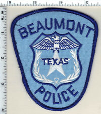 Beaumont Police (Texas) Uniform Take-Off Shoulder Patch from 1991
