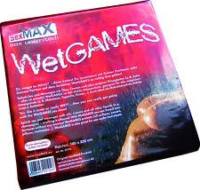 Sexmax Wetgames 180 X 220 cm chapa pintura negro Joydivision charol Látex