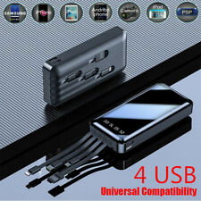 Universal Portable Slim Power Bank 900000mAh Fast Charging USB External Battery