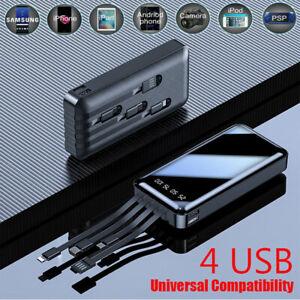 Universal Portable Slim Power Bank 900000mAh Fast Charging USB External Battery