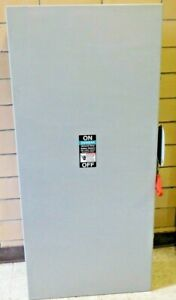 """NEW! Siemens GF225N 58""""x 28"""" Fusible Safety Switch 400 AMP 240VAC 2P 3 Wire (FH)"""