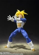 Dragon Ball Z Super Saiyan Trunks Saiyan Armor S.H. Figuarts Action USA Seller