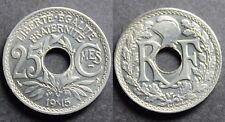 25 Centimes LINDAUER, Cmes SOULIGNÉ, 1915 SUP