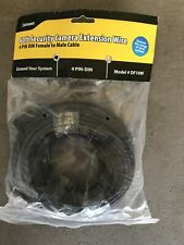 Defender 60ft Security Camera Extension Cable Wire 4 Pin Din Model Df10W