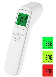 Fieberthermometer Infrarot Stirn Kontaktlos Digital Thermometer Baby Erwachsene✅