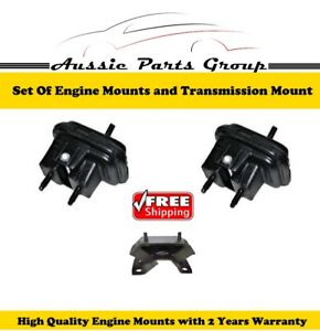 Holden V6 Engine Mounts Commodore 3.8L n Rear Gearbox Transmission Mount 3.8L