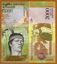 Venezuela, 2000 Bolivares, 2016 (2017), P-New, New design, denomination UNC