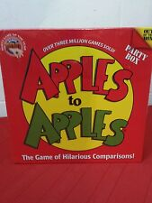 Apples to Apples Game - Party Box - NEW/SEALED 2 Slightly dent corners
