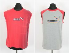 7 X Puma Vests Size Large | Retro Vintage Gym Running Jogging Sports Joblot Bulk