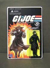 "Custom GI Joe figure and package  ""OLD SNAKE"" cobra commander from TRANSFORMERS"