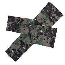Camouflage Arm Sleeves Sun UV Protection Cover Oversleeves Hot Sale