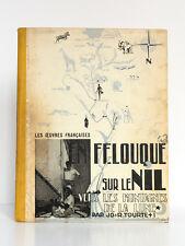 En felouque sur le Nil Vers les montagnes de la Lune, Jo et Roger TOURTE. 1937