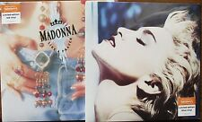 MADONNA - Like A Prayer/True Blue - 2x LP (2016) Red/Blue Vinyl 'NEW & SEALED'