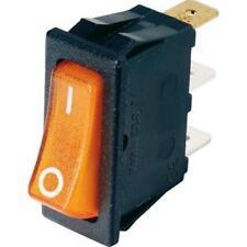 Electrolux Dometic Fridge / Gas 230V Switch Illuminated – ORANGE - 2926275203