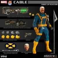 MEZCO TOYS ONE-12 COLLECTIVE MARVEL PX CABLE X-MEN EDITION