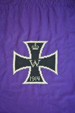 Original Tuch mit  WW1 WK1 EK2 1914 gestickt