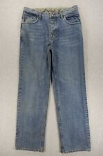 Burton Distressed Button Fly Casual Jeans (Mens 32x32)