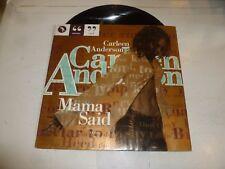 "CARLEEN ANDERSON - Mama Said - 1994 UK 4-track 12"" Vinyl Single"