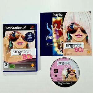 SONY PlayStation 2 Spiel SINGSTAR '80s dt Blondie/Madonna/Cure/Run DMC/Wham!
