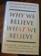 Why We Believe What We Believe Newberg 2006 First Free US Shipping Spirituality