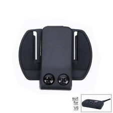 Helmet Headset Mounting Clips/Bracket for V6 1200m Bluetooth Motorcycle Intercom