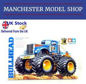 UK Stock - Tamiya 17008 Wild Mini 4WD 1:32 Bullhead Junior Monster Truck