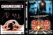 DEAD ZONE - CHROMOSOME 3  - Boitier DOUBLE DVD - 2 FILMS -   OCCAS