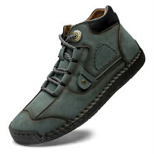 Genuine Leather Men's Casual Shoes Breathable Sneakers Classic Handmade Shoes