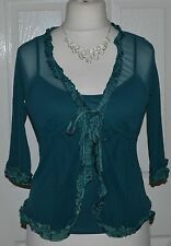 3/4 Sleeve Twinsets Tie Jumpers & Cardigans for Women