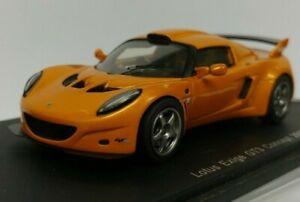 ===== Spark 1:43 Lotus Exige GT3 Concept 2007 Orange (Sleeve & Clear Case) =====