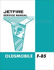 1962 Oldsmobile Jetfire Manuale di Negozio Integratore Età F85 Turbo Repair