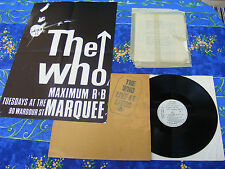 THE WHO ♫ LIVE AT LEEDS ALL INSERTS ♫ RARE TOP RECORDS #1A