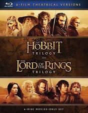 Middle-Earth Theatrical Collection: 6-Film Theatrical Versions (Blu-ray Disc,...