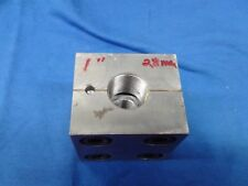"""3"""" by 3"""" by 3"""" splite Steel Block with one side .81"""" other 1"""" # 180176"""