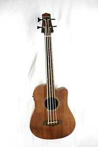 "Gold Tone 23"" Scale Fretless Acoustic-Electric MicroBass  w/ Gig Bag #R8195"