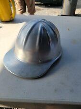 Vintage Aluminum Safety Hard Hat Willson Style Super Light /used shape