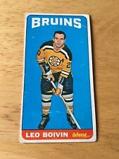 Topps Hockey 1964-65 Leo Boivin Boston Bruins card # 50