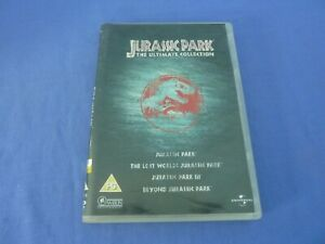 Jurassic Park: The Ultimate Collection DVD 4-Disc Set R2,4,5 Free Tracked