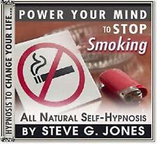 DR.STEVE G. JONES Clinical Hypnotherapist Stop Quit Smoking HYPNOSIS CD