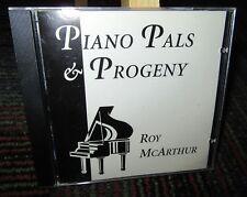 ROY MCARTHUR: PIANO PALS & PROGENY MUSIC CD, 16 GREAT TRACKS, BENJAMIN RECORDS