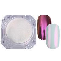 Nail Glitter Powder Mirror Effect Chrome Nail Art  Pigment Born Pretty