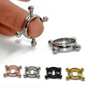 Non Pierced Clip On Nipple Ring Sexy Nipple Body Jewelry Adult Fake Piercing