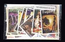 Amérique du Sud 100 timbres différents oblitérés tous pays