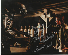 Cult Sci-Fi movie Alien photo signed by Veronica Cartwright as Lambert To Bill