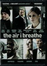 The Air I Breathe (DVD) Kevin Bacon, Forest Whitaker, Julie Delpy NEW