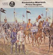 """Hoch- und Deutschmeister Kapelle Radetzky Marsch / Prinz Eugen 60`s EMI 7"""""""
